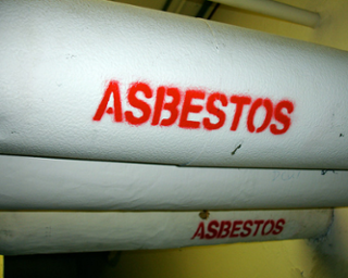 Breathing high levels of asbestos fibers can lead to an increased risk of lung cancer or asbestosis