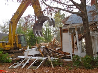 looking at neighborhood property value comps will help you decide between renovate or rebuild
