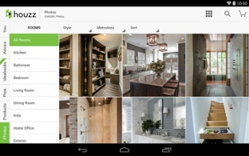 The free Houzz app has more than 6 million high-resolution photos