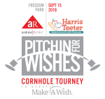 Pitchin For Wishes Charlotte Logo