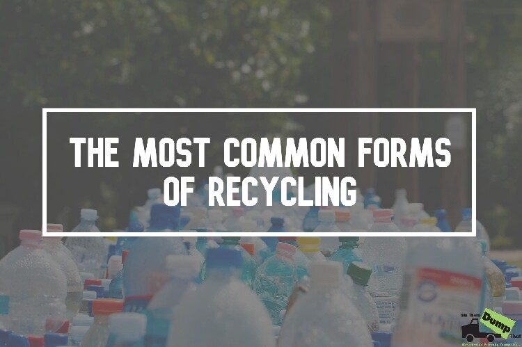 The Most Common Forms of Recycling